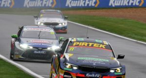 Andrew Jordan fastest in rain-affected second practice at Brands Hatch