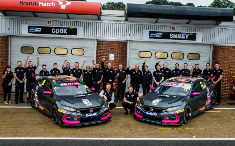 BTC Racing team photo