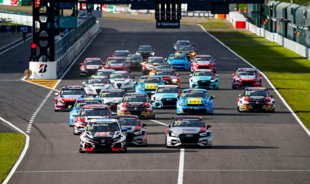 WTCR suzuka race start