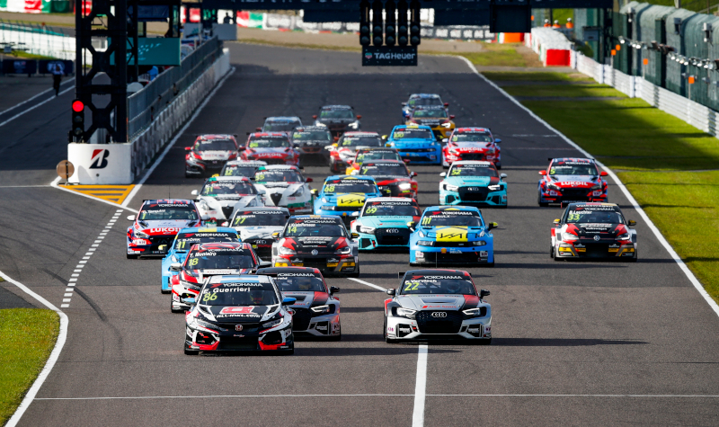 WTCR suzuka race start