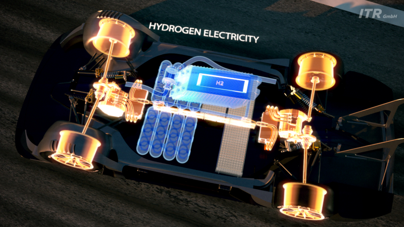 Electric DTM drive and power system