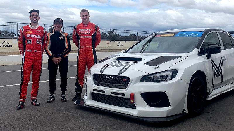 Milldun Motorsport TCR drivers