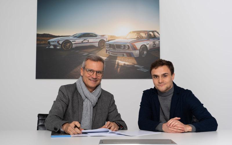 Jens Marquardt and Lucas Auer