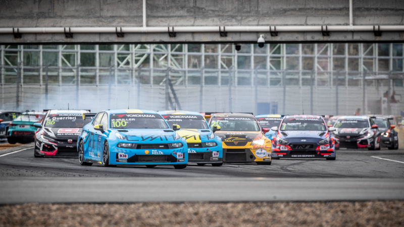 WTCR race start in Ningbo