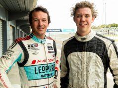 Jean-Karl Vernay and Liam McAdam