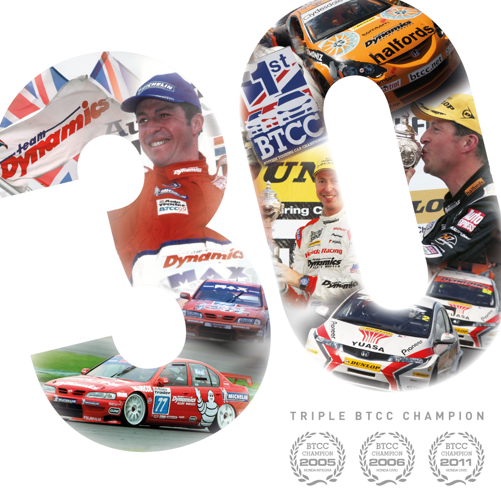 Matt Neal 30 years in BTCC