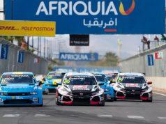 WTCR race start in Marrakech