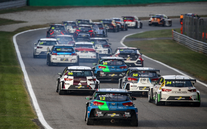 TCR pack at Monza