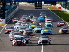 WTCR race start in Suzuka 2019