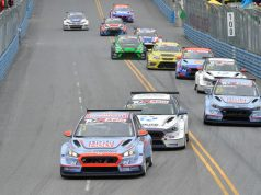 TCR Asia race start in Bangsaen