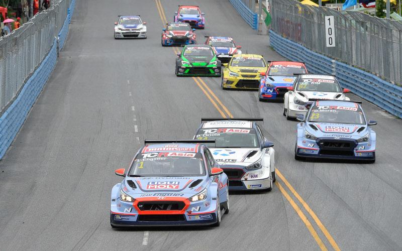 TCR Asia race start in Bangsaen
