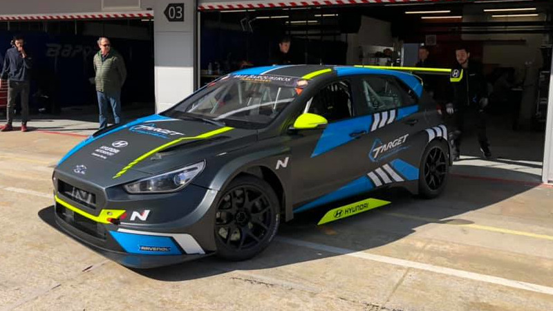 Hyundai i30 N TCR Target Competition