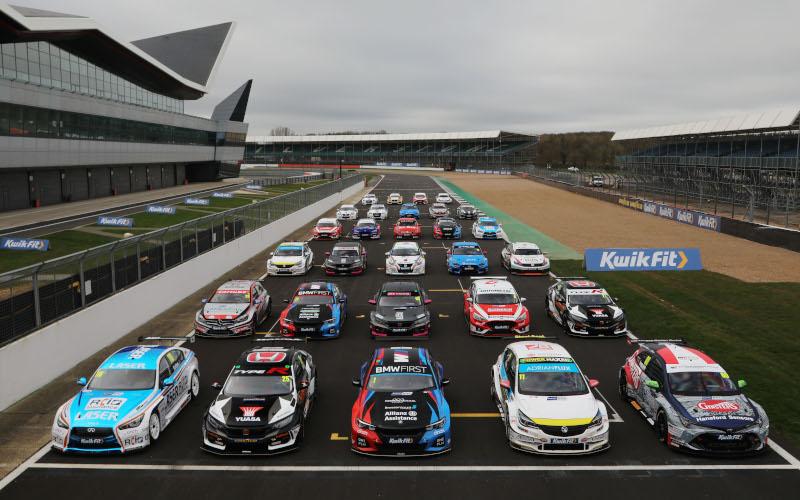 2020 BTCC grid at season launch
