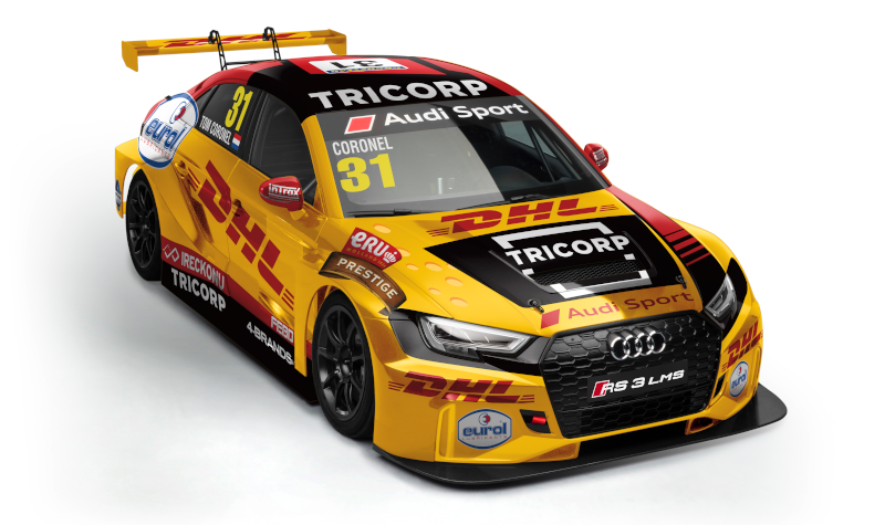 Tom Coronel Audi RS3 LMS TCR 2020