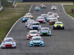 ADAC TCR Germany race start at Oschersleben