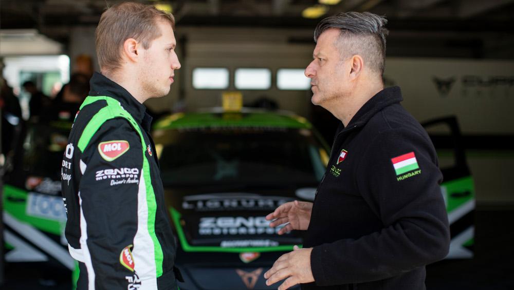 Bence Boldisz and Zoltan Zengo
