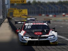 Timo Glock, BMW M4 DTM at the Lausitzring