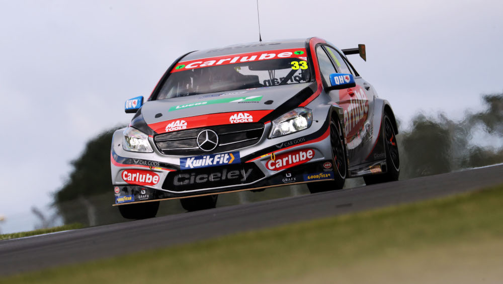 Adam Morgan, Ciceley Motorsport, Mercedes-Benz A-Class