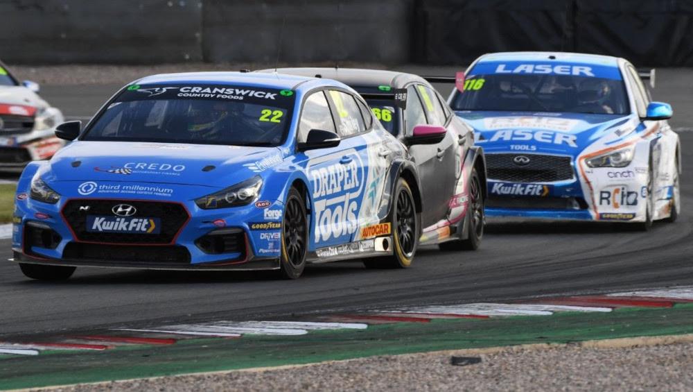 Chris Smiley, Excelr8 Motorsport, Hyundai i30 Fastback N Performance