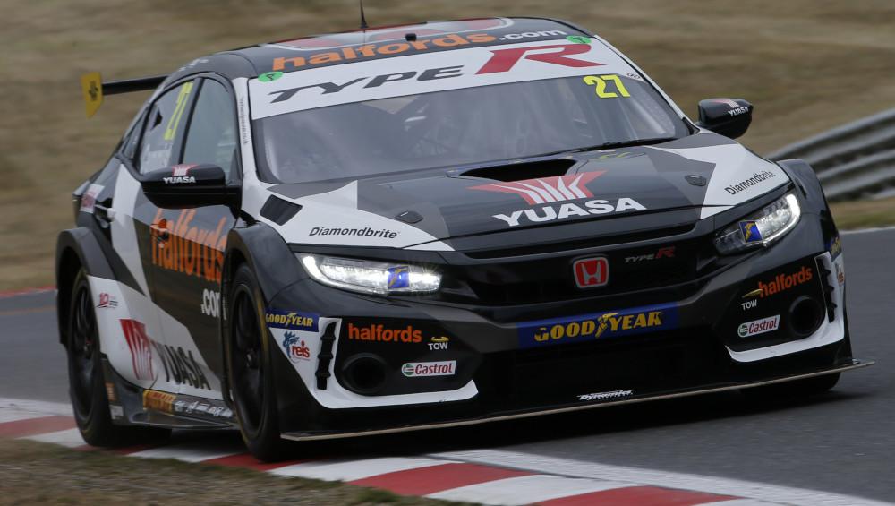 Dan Cammish, Halfords Yuasa Racing [Team Dynamics], Honda Civic Type-R FK8