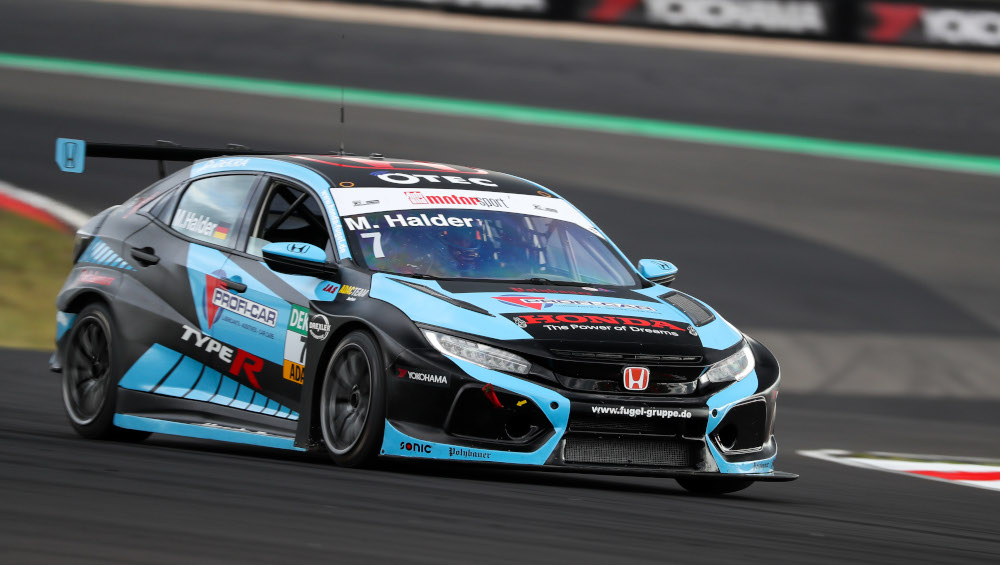 Mike Halder, Team Honda ADAC Sachsen, Honda Civic Type-R FK8 TCR