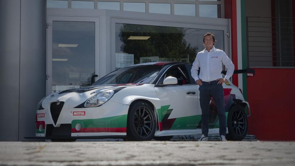 Jean-Karl Vernay, Team Mulsanne, Alfa Romeo Giulietta TCR