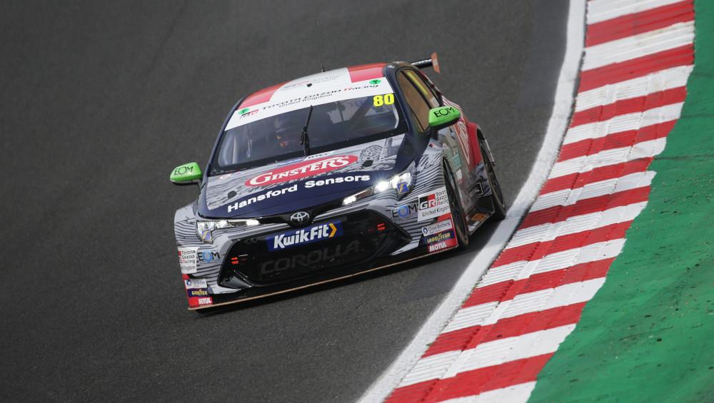 Tom Ingram, Toyota Gazoo Racing UK with Ginsters [Speedworks Motorsport], Toyota Corolla