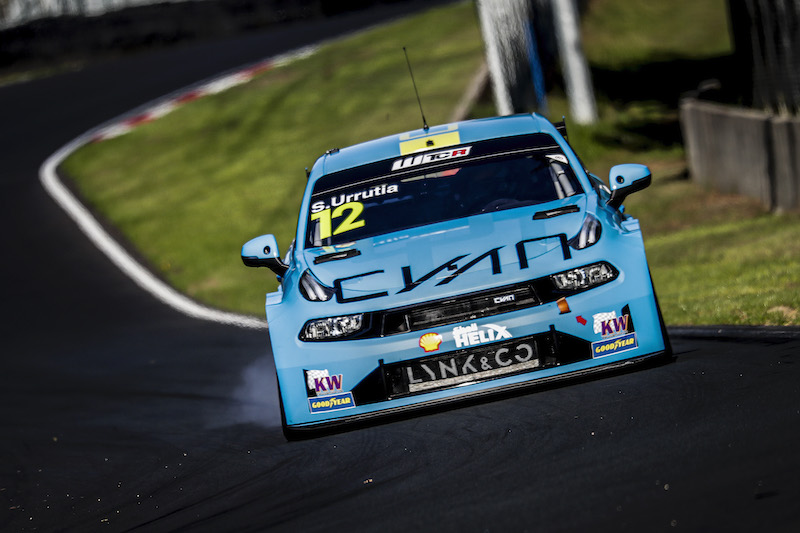Santiago Urrutia, Cyan Racing, Lynk & Co 03 TCR