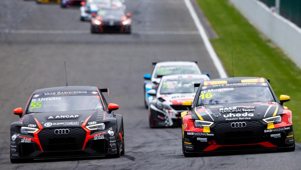Santiago Urrutia, WRT, Audi RS3 LMS TCR and Gilles Magnus, Comtoyou Racing, Audi RS3 LMS TCR