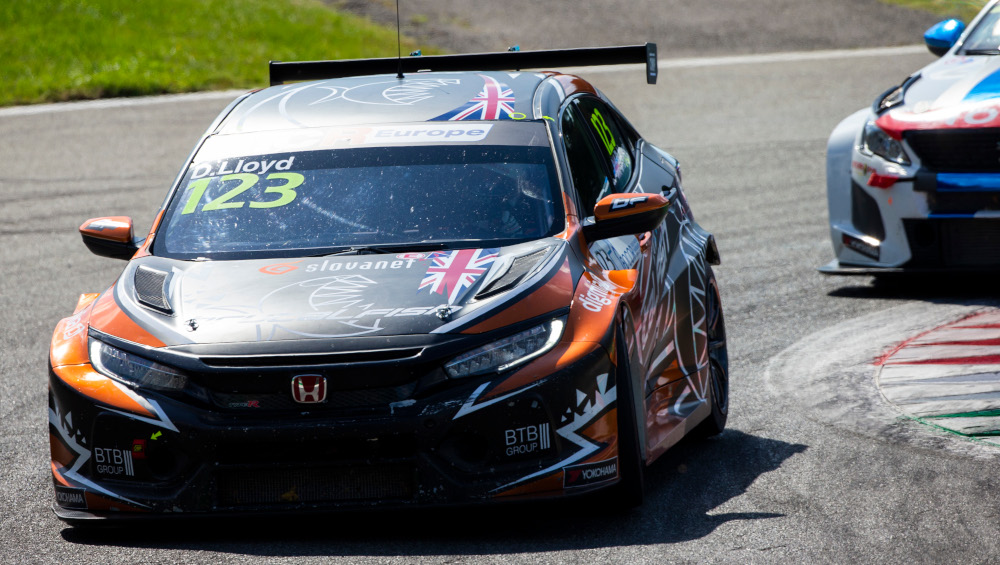 Dan Lloyd, Brutal Fish Racing Team, Honda Civic Type-R FK8 TCR