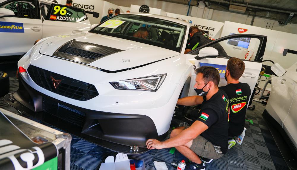 Gábor Kismarty-Lechner, Zengő Motorsport, CUPRA Leon Competición