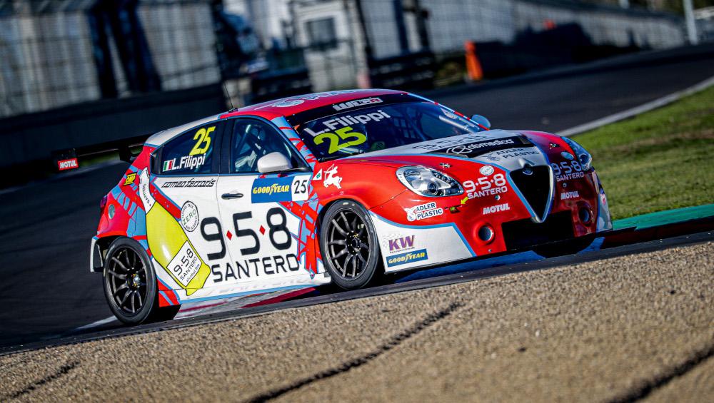 Luca Filippi, Team Mulsanne, Alfa Romeo Giulietta TCR