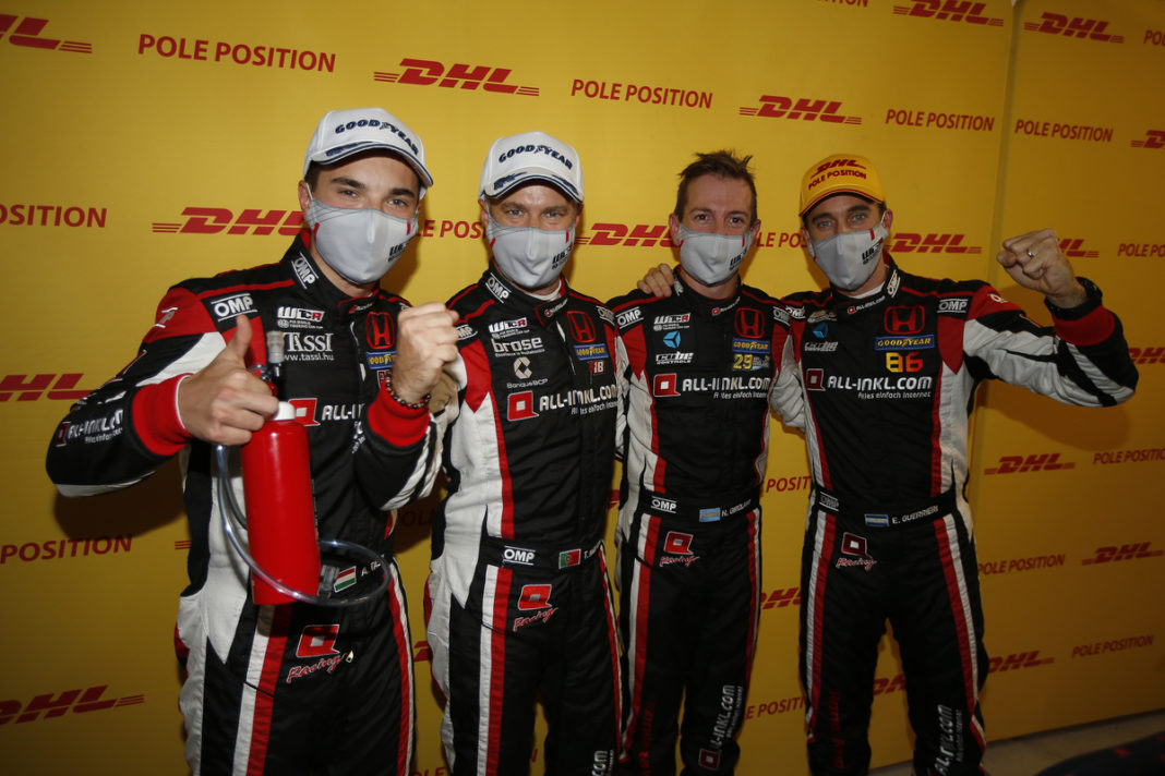 In order left to right: Attila Tassi, Tiago Monteiro, Nestor Girolami & Esteban Guerrieri