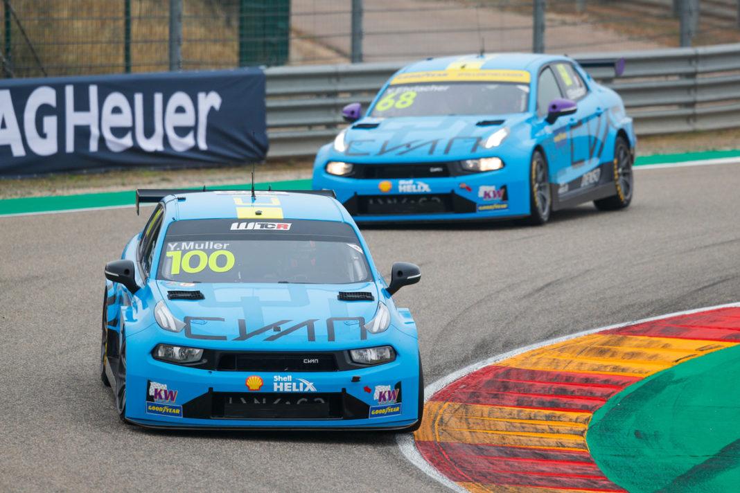 Yvan Muller, Yann Ehrlacher, Cyan Racing
