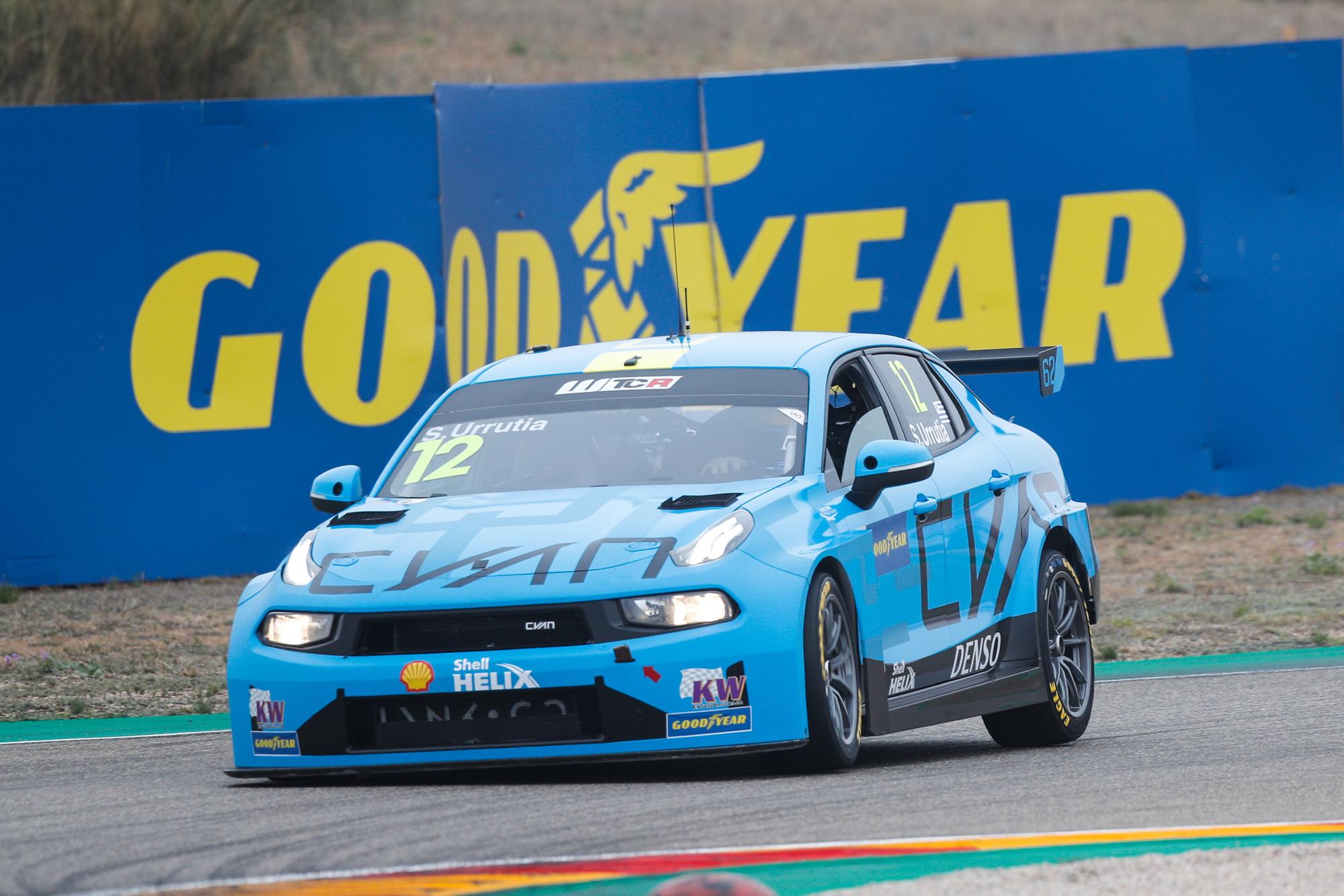 Santiago Urrutia, Cyan Racing