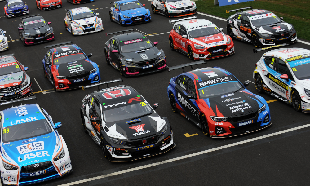 2020 BTCC grid at season launch