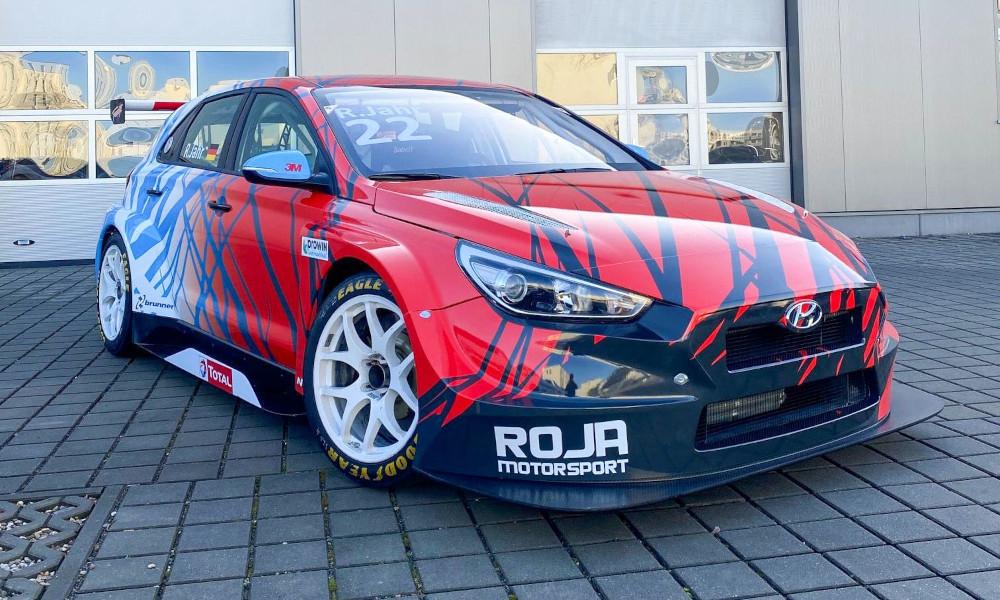 Roja motorsport Hyundai i30 N TCR