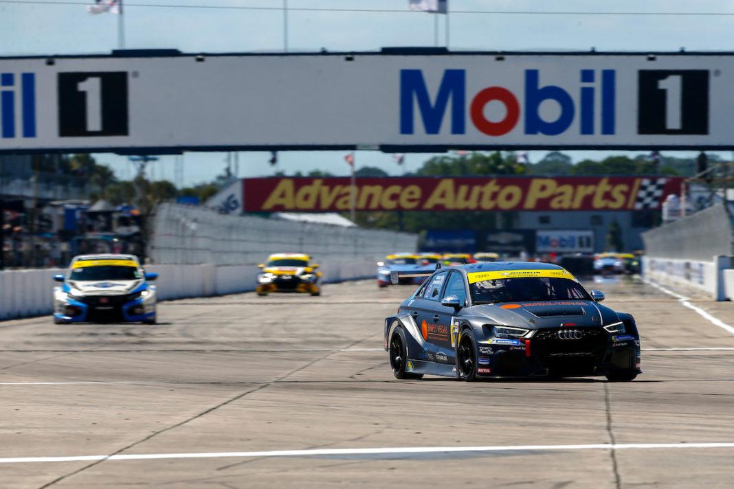 #61 Road Shagger Racing Audi RS3 LMS DSG, TCR: Gavin Ernstone, Jon Morley