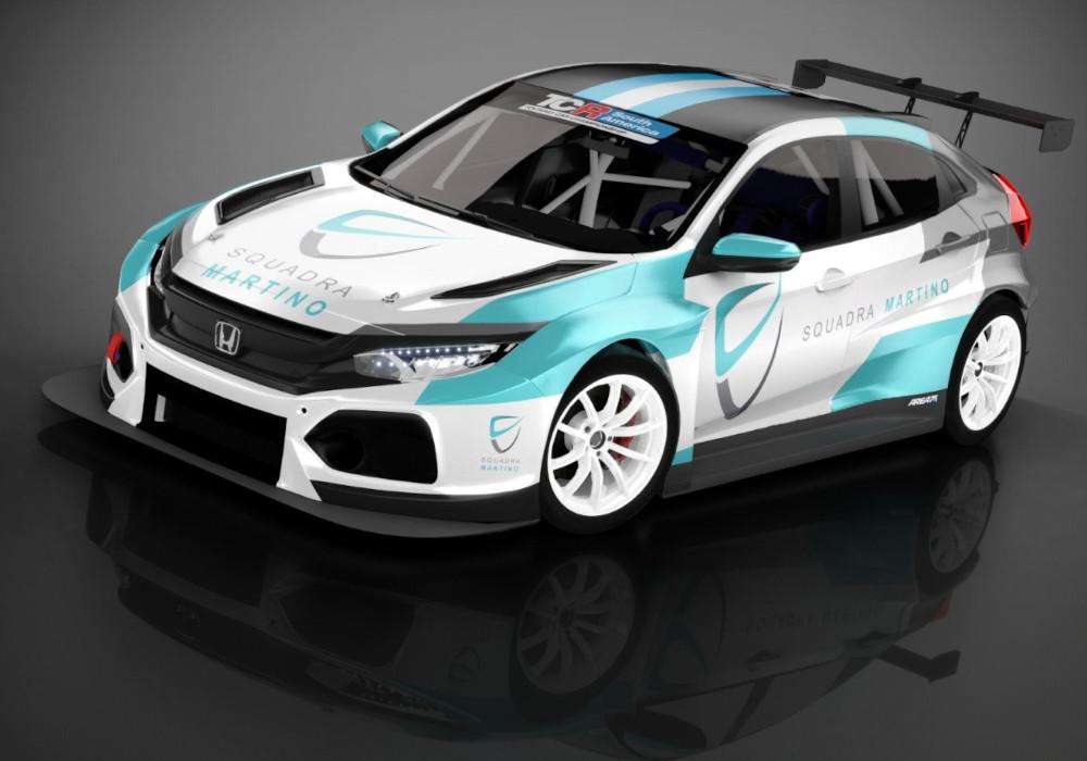 Squadra Martino Honda civic Type-R FK8 TCR