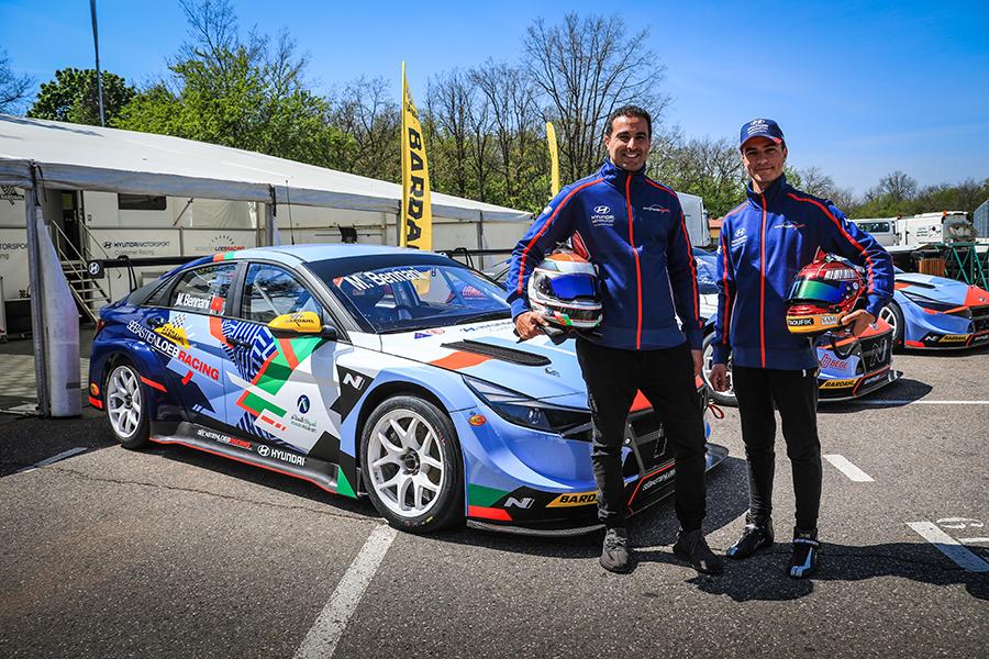 Mehdi Bennani and Sami Taoufik