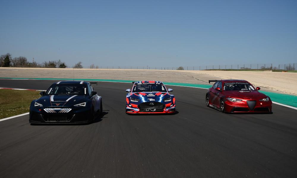 ETCR cars