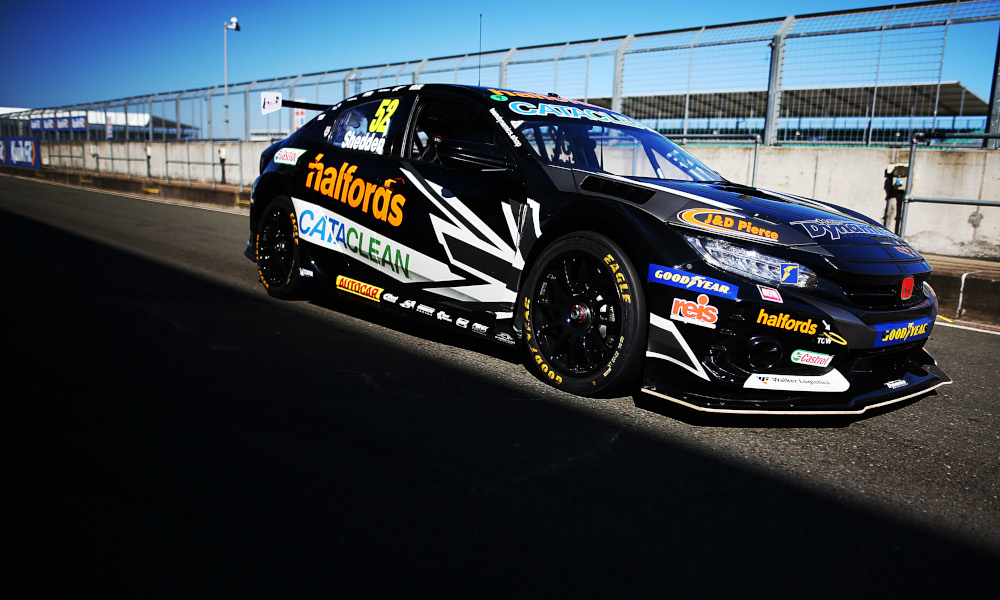 Gordon Shedden, Halfords Racing with Cataclean, Honda Civic Type-R FK8 NGTC