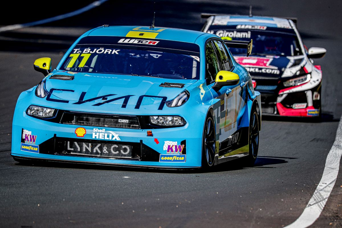 Thed Bjork, Cyan Racing, Lynk & Co 03 TCR
