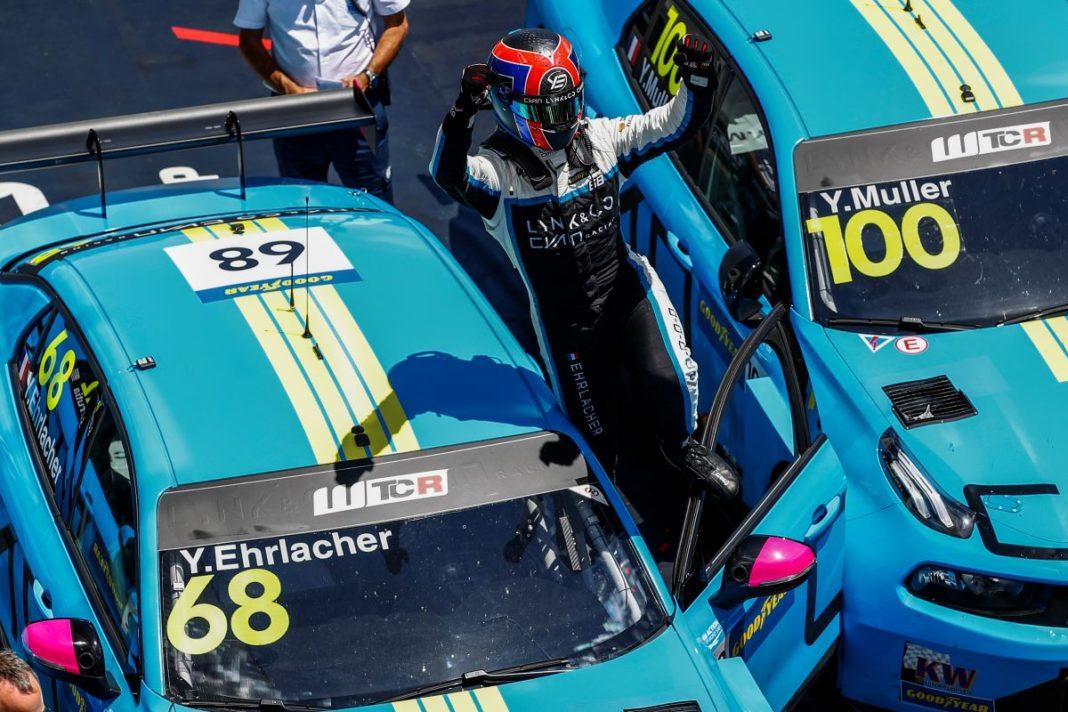 Yann Ehrlacher, Cyan Racing