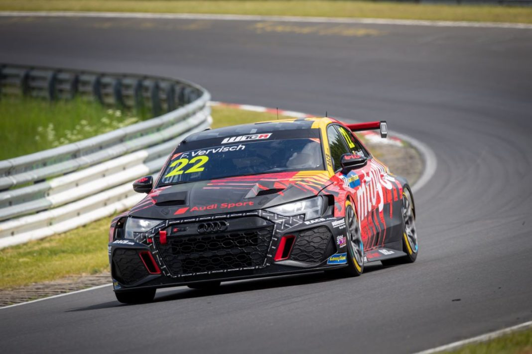 Frederic Vervisch, Comtoyou Racing Team Audi Sport, Audi RS3 LMS TCR