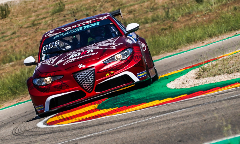 Rodrigo Baptista, Romeo Ferraris with M1RA, Alfa Romeo Giulia ETCR