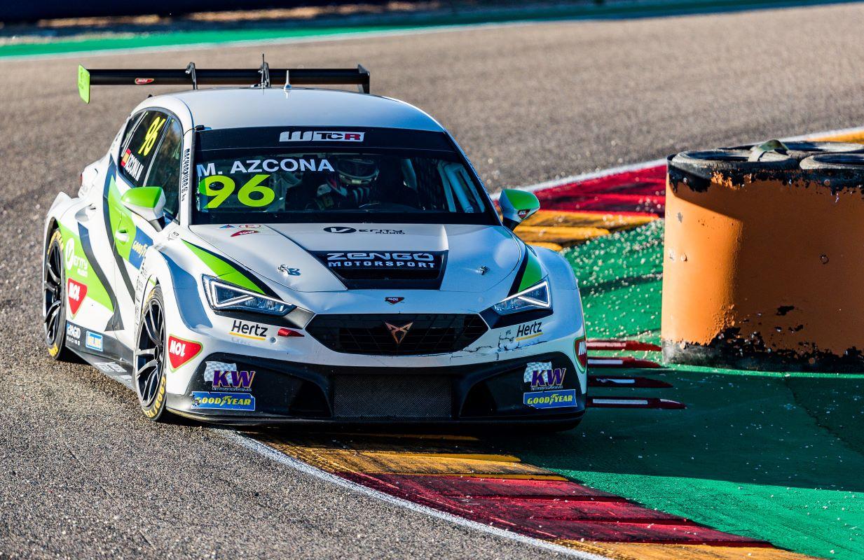 Mikel Azcona, Zengo Motorsport, CUPRA Leon Competicion TCR
